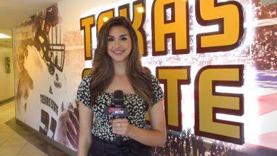 Sports2Nite correspondent Isabella Radovan