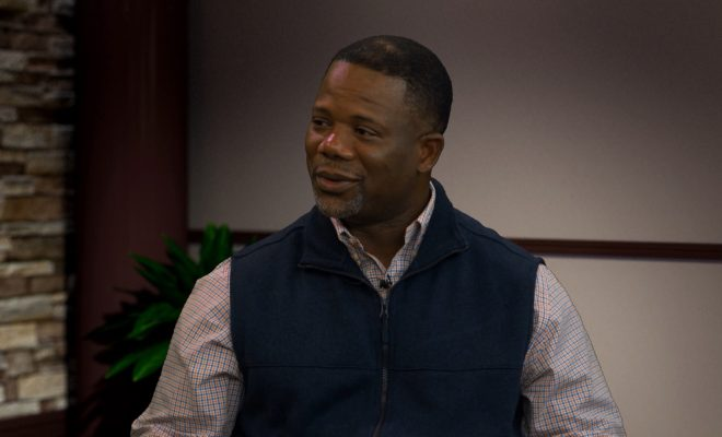 Image of Frank Wilson talking about the team I studio