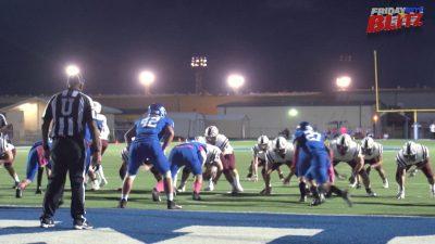 Image of high school football teams on the field