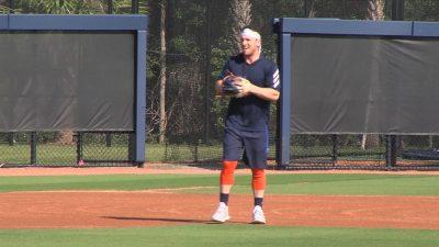 Image of Alex Bregman during practice