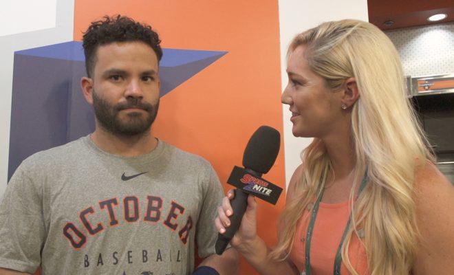 Jose Altuve Interview