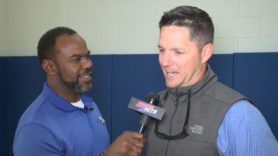 Image of Marcus Floyd interviewing Scott Lenhoff