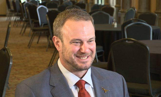 Image of Tom Herman smiling