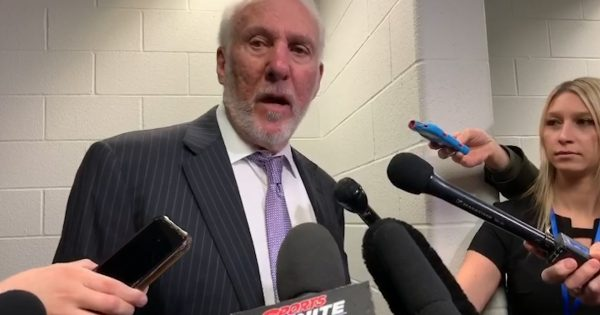 Image of Coach Popovich
