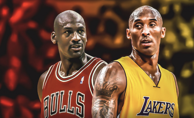 Image of Kobe and Michael